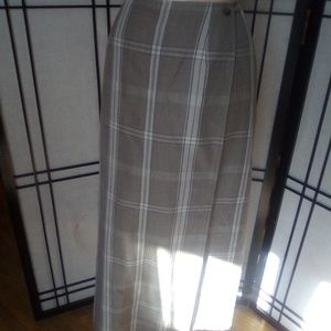 Crazy Horse Plaid Skirt 🧡